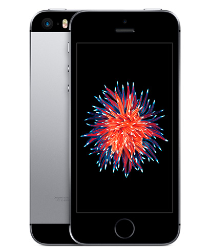 iPhone SE 64GB Space Gray (серый космос)